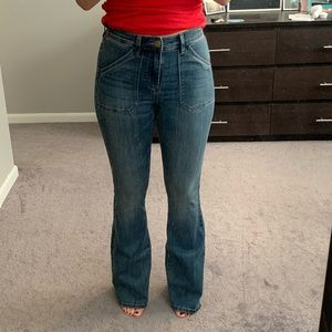 The Limited - High Waisted Flare Jeans